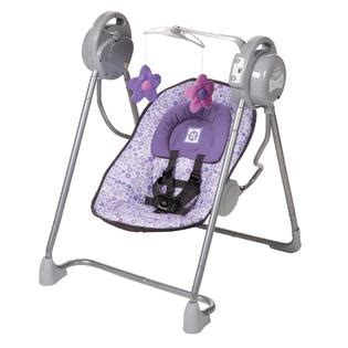 white baby swing dream on me highchair and swing pink