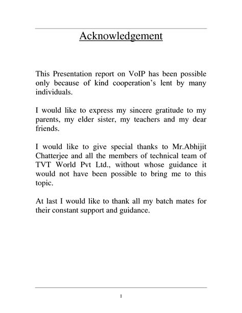 acknowledgement thesis education sle of acknowledgement for group thesis