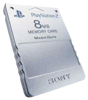 Memory Card Ps2 8mb By Winzgame official sony ps2 memory card 8mb silver playstation 2