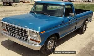 1979 ford f150 custom 300 6 cylinder automatic power