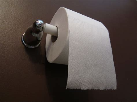 writing on toilet paper take care of the bottom line
