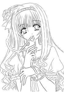 The Lonely Beast Outline by Anime Lineart New By Nanachan1999 On Deviantart