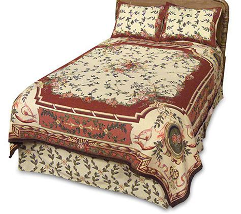 tapestry coverlets amadeus amboise woven tapestry coverlet and sham s