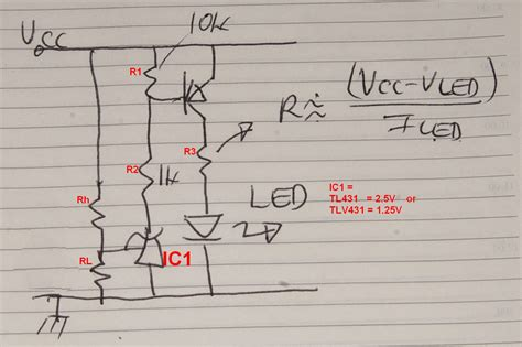 minimum diode voltage drop led zener diode for minimum voltage regulator electrical engineering stack exchange