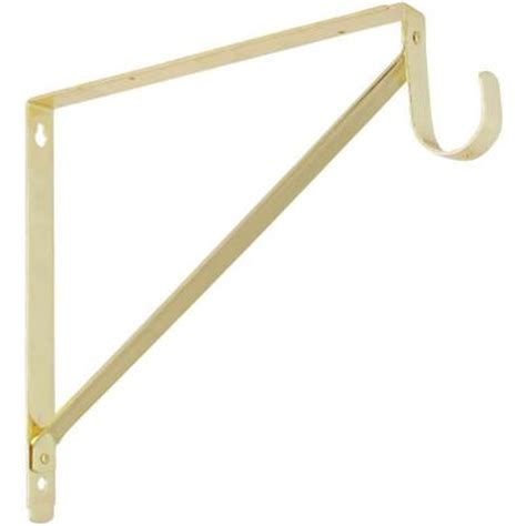 Shelf With Hanging Rod by Stanley National Hardware 11 In X 12 5 8 In Shelf