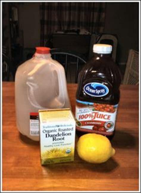 Dandelion Tea Cranberry Detox by Flush Detox Drink Recipe Flush Detox