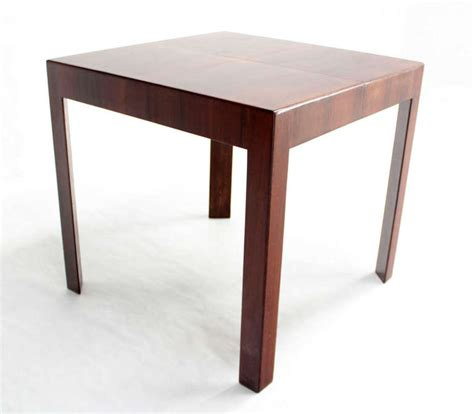 mid century small walnut dining or game butterfly leaf table at 1stdibs oiled walnut square italian mid century modern game small