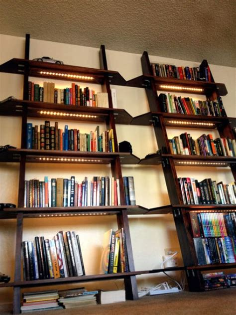 lighting for bookshelves 20 functional and decorative bookshelves you can diy