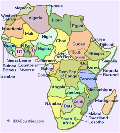 africa map 1800 continent maps 1800 countries