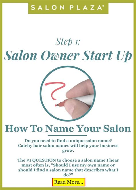 hair salon names ideas salon owner start up step 1 how to name your salon