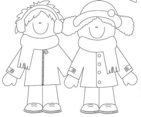 imagenes de invierno para niños para colorear el invierno dibujos para colorear