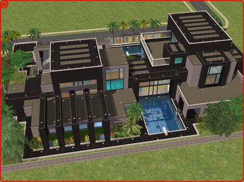 the sims 2 house designs sims 2 modern dream house by ramborocky on deviantart