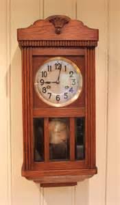 small oak wall antiques atlas small oak striking wall clock