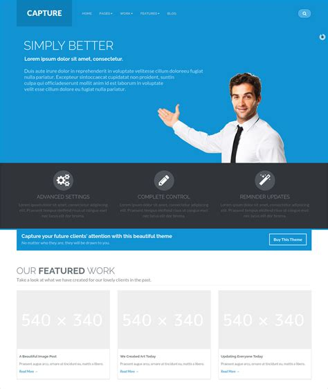 bootstrap themes corporate 50 best bootstrap wordpress themes templates design
