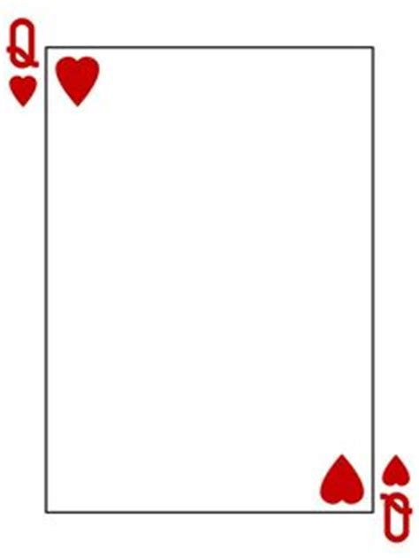 king of hearts card template the gallery for gt of hearts card template