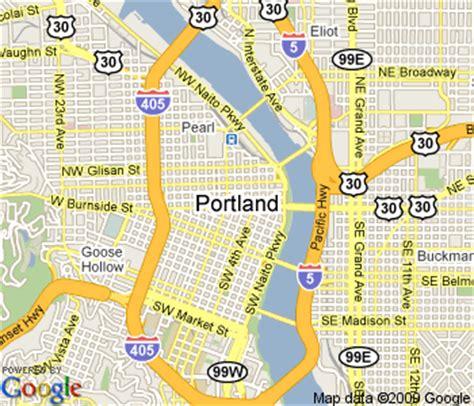 map of oregon near portland portland maps free printable maps