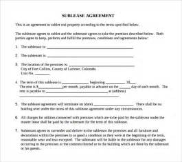 sample basic lease agreement 9 documents in pdf
