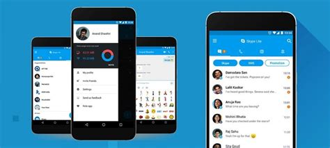 skype for android tablet apk microsoft launches new skype lite for india android community