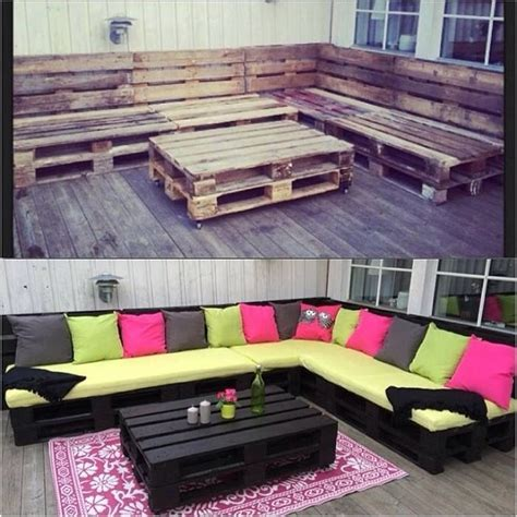 Diy Outdoor Patio Furniture Made From Pallets 2017 Outdoor Furniture Using Pallets