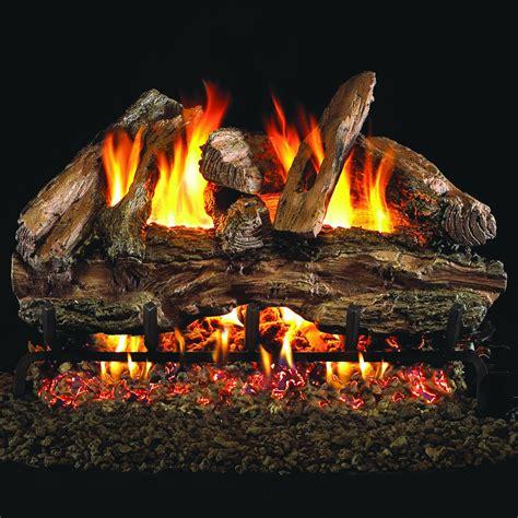 Gas Logs Real Fyre Chredg45 24 Charred Oak 24 Quot Gas Log Set