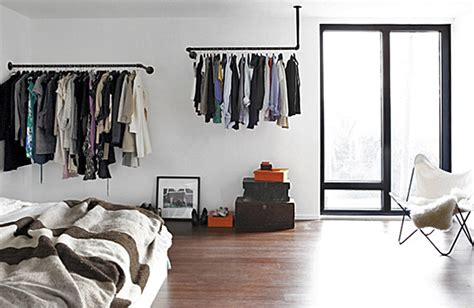 bedroom clothes rack simple and practical clothing racks for casual decors