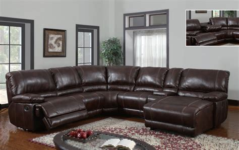 Leather Reclining Sectional With Chaise Lounge Leather Sectional Sofas With Recliners And Chaise Refil Sofa
