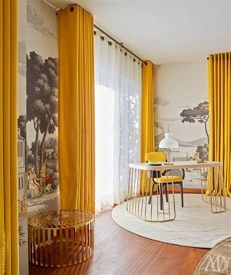 yellow interior top 25 best yellow curtains ideas on yellow
