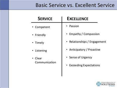 exle of excellent customer service creating a culture of service excellence