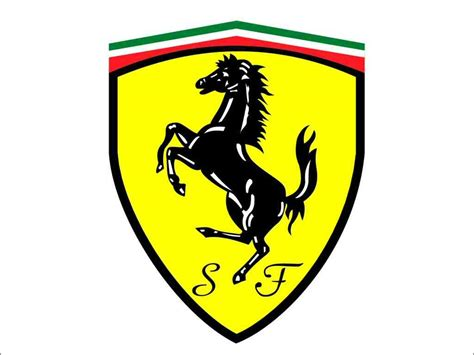 Ferrari Logo Yellow Horse Design The News Wheel