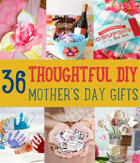 homemade mothers day gifts 36 thoughtful homemade mother s day gifts diyready com
