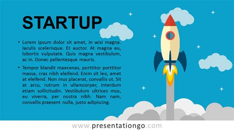 Startup Metaphor For Powerpoint Presentationgo Startup Powerpoint Template