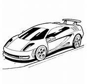 Coloriage De Voiture Lamborghini  Coloriages V&233hicules &224