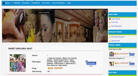 jasakoding id contoh web penyedia jasa wedding organizer dilengkapi