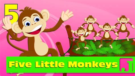 youtube five little monkeys jumping on the bed five little monkeys jumping on the bed nursery rhymes