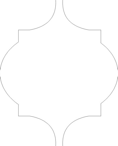 moroccan shapes templates diy moroccan stencil and craft closet update