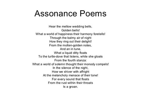 exle of assonance assonance poetry exles driverlayer search engine