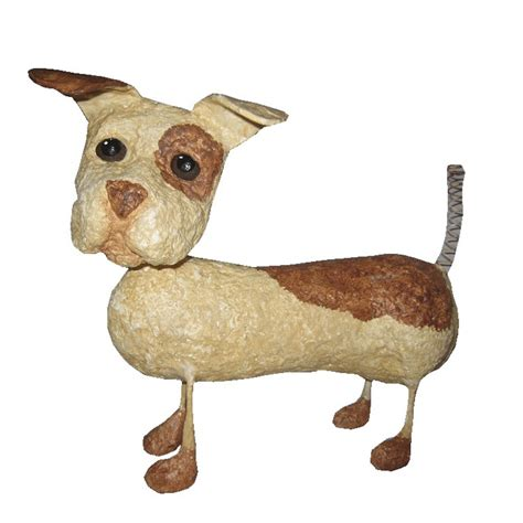 paper a puppy 15 best images about paper mache dogs on animal sculptures paper and