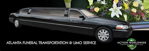 Funeral Limo by Atlanta Funeral Transportation Services Atlanta Funeral