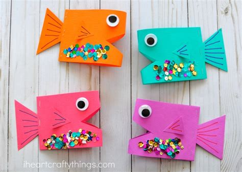 Paper Fish Craft - paper fish craft i crafty things