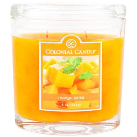 Colonial Candle Colonial Candle Mango Salsa Oval Jar Candle Colonial