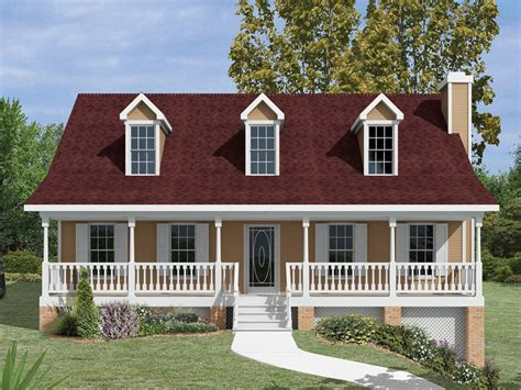 house plans garage under hamlin park country home plan 013d 0011 house plans and more