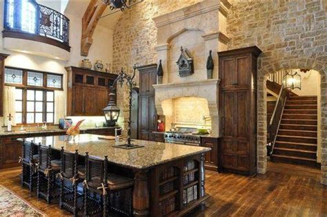 Large Kitchen Ideas by Old World Tuscan Rustic Elevations Rustic Tuscan Kitchen