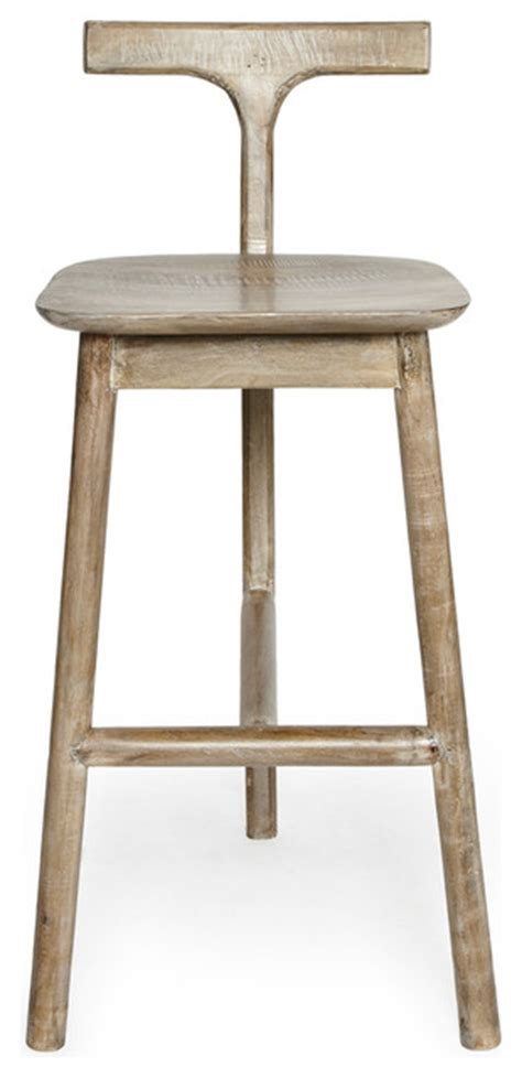 rustic kitchen stools uk salvage wood t back bar stool rustic bar stools and