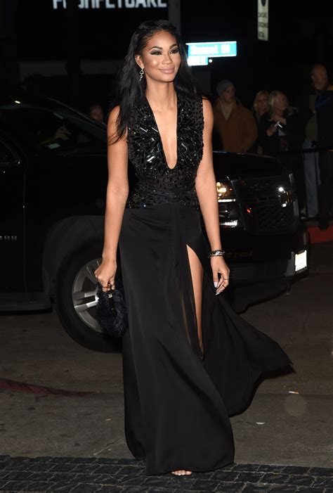 Iman Dress chanel iman evening dress chanel iman looks stylebistro