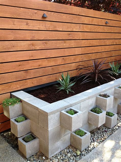 cinder block flower bed cinder block flowerbed decoist