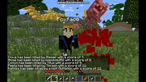hunger games mod in minecraft minecraft hunger games mod with blood part 1 youtube