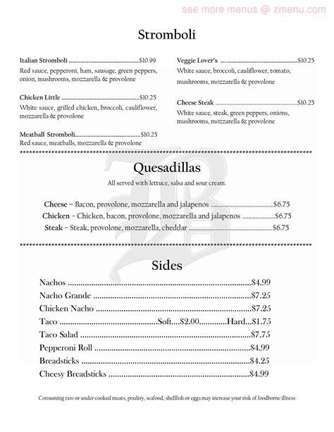 paint room connellsville menu of paint room the restaurant connellsville pennsylvania 15425 zmenu