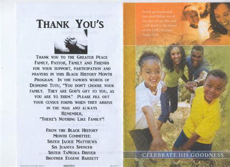 themes black history program ushers appreciation poems just b cause