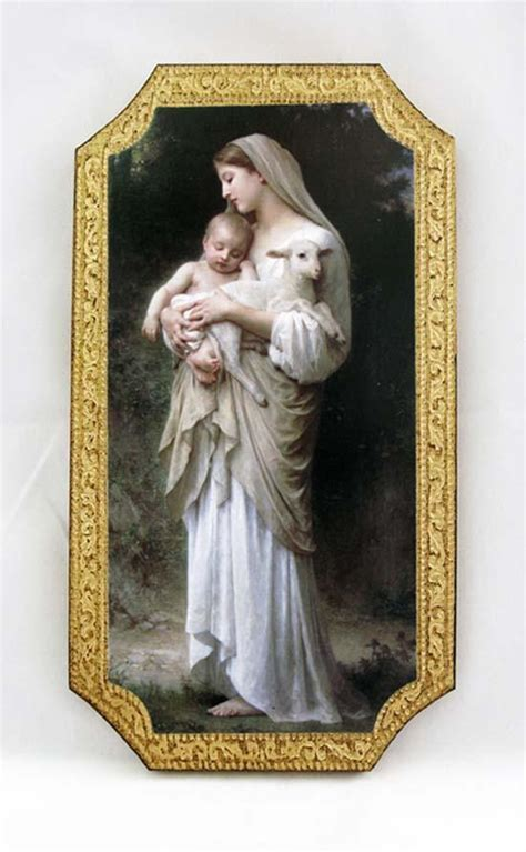 Innocence by Bouguereau Madonna and Child Florentine Icon