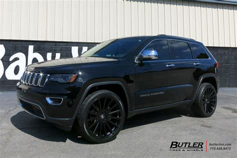 rhino jeep grand cherokee jeep grand cherokee with 22in black rhino spear wheels